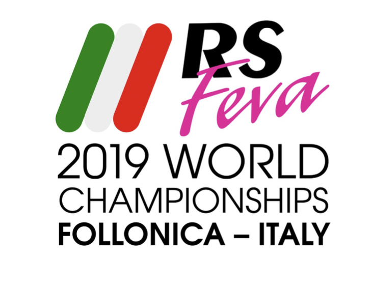 RS Feva World Championships 2019 logo