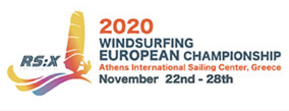 2020 RS:X European Championships & Open Trophy and RS:X Youth World & European Championships logo