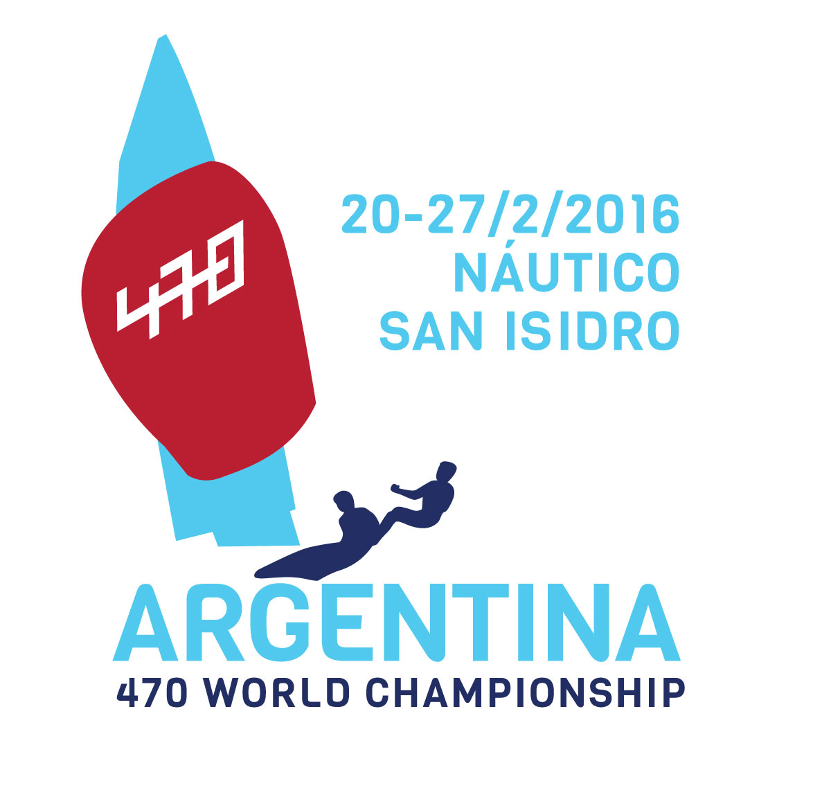 470 World Championship logo